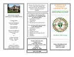Housing Clinic Brochure by Legal Clinic Program