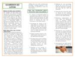 Guardian Ad Litem Brochure, page 2 by Legal Clinic Program