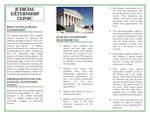 Judicial Externship Clinic Brochure, page 2 by Legal Clinic Program