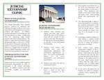 Judicial Externship Clinic Brochure, page 2