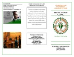Prosecution Clinic Brochure by Legal Clinic Program