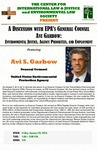 A Discussion With EPA's General Counsel Avi Garbow: Environmental Justice, Agency Priorities, and Employment by Avi S. Garbow, General Counsel