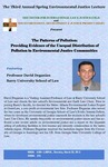 The Patterns of Pollution: Providing Evidence of the Unequal Distribution of Pollution in Environmental Justice Communities