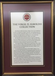 The Virgil D. Hawkins Collection Plaque by Florida A&M University College of Law Library