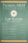Florida A & M University Law Review by Florida A & M University College of Law