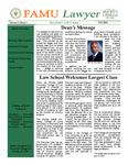 FAMU Lawyer and Annual Report    Volume 3, Issue 1