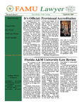 Florida A&M University College of Law Newsletter and Annual Report    Volume 1, Issue 4